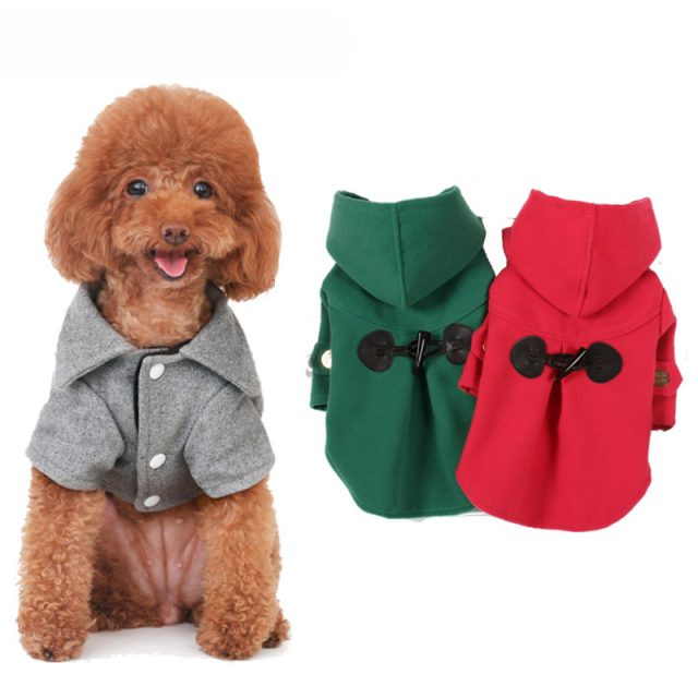 Casual Warm Hooded Coat for Dog