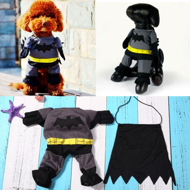 Batman Style Party Costume For Dogs