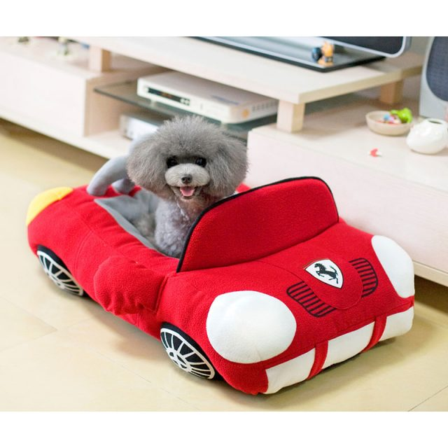 Sports Car Shaped Pet's Bed House
