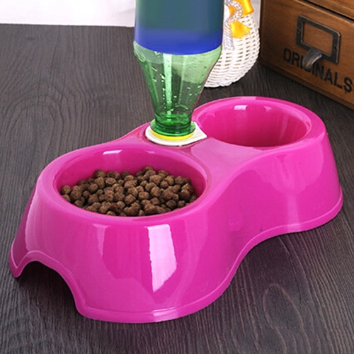 Dual Port Dog Cat  Automatic Water Dispenser Feeder