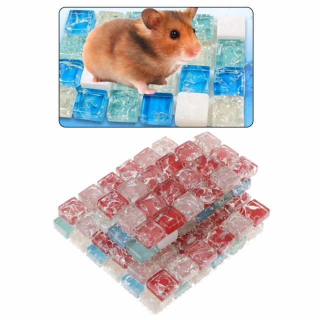 Small Pet Cooling Pad Summer Cushion Mat S/L Size Hamster Guinea Pig Squirrel Chinchilla Small Animal Supplies C42