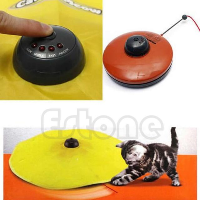 Undercover Fabric Moving Mouse Interactive Cat Toy