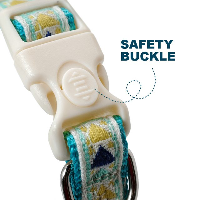 Personalized Nylon Dog Collar Safety Customized Printed Cat Collars