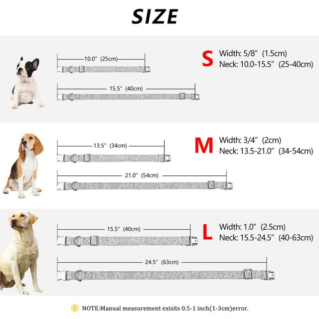 High Quality Personalized Dog Collar Adjustable